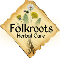 Folkroots Herbal Care Logo